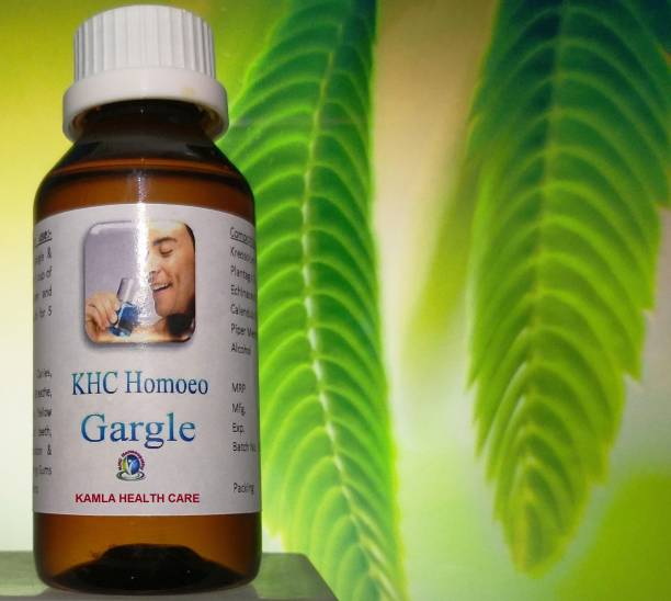 KHC Homeo gargle - Peppermint