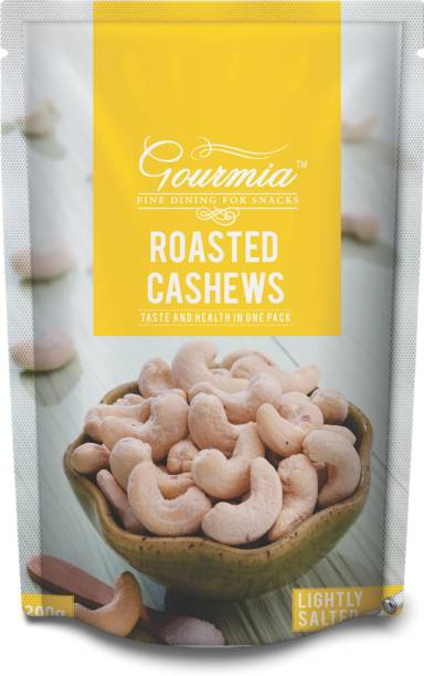 Gourmia Roasted Cashews Lightly Salted Cashews