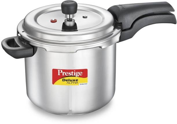 Prestige Deluxe Alpha Svachh 5.5 L Induction Bottom Pressure Cooker