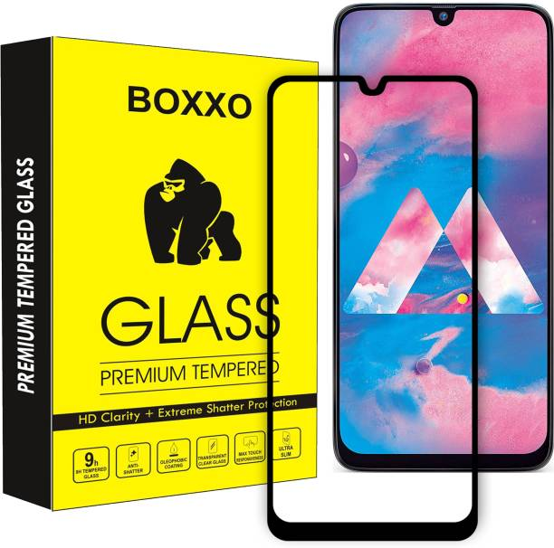 Boxxo Edge To Edge Tempered Glass for Samsung Galaxy M31