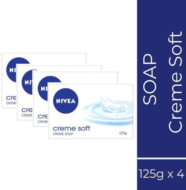 NIVEA CREAME SOFT SOAP SET