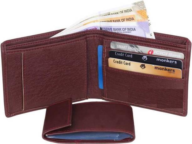 yoze Men Brown Artificial Leather Wallet