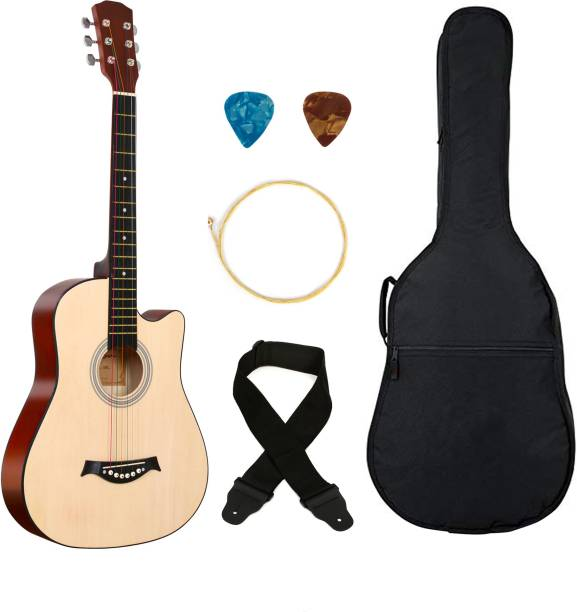 Flipkart SmartBuy 38C Classic brown ,38 Linden Wood Acoustic Guitar