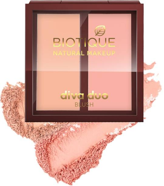 BIOTIQUE Diva Duo Blush, Pastel N Peach