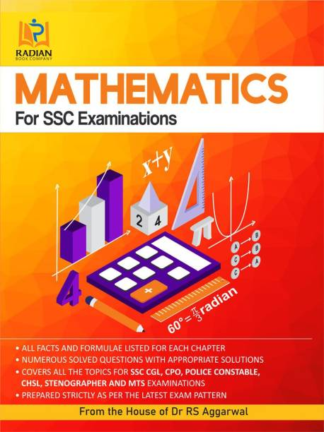 Mathematics for SSC Examinations (From the House of Dr RS Aggarwal)