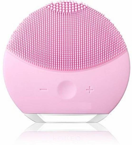 VENTUOS Face Cleaning Device Deep Skin Pore Cleansing Massager Electric Waterproof Silicone Facial Cleaner Electric Face Cleaner & Washer Massager (Pink)Face Cleaning Device Deep Skin Pore Cleansing Massager Electric Waterproof Silicone Facial Cleaner Electric Face Cleaner & Washer Massager (Pink) Facial Cleanser System & Brush
