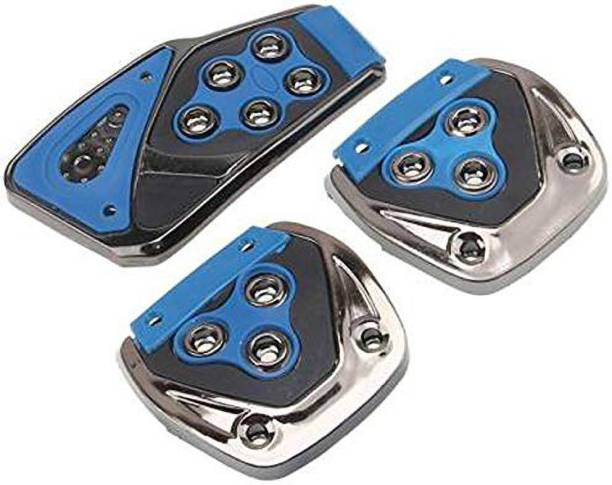 JBRIDERZ Non-Slip Manual Car Pedals kit Pad Covers Set-Universal Car Pedal