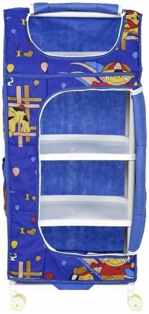 Archana Novelty Angel Almirah- Blue 4S PVC Collapsible Wardrobe