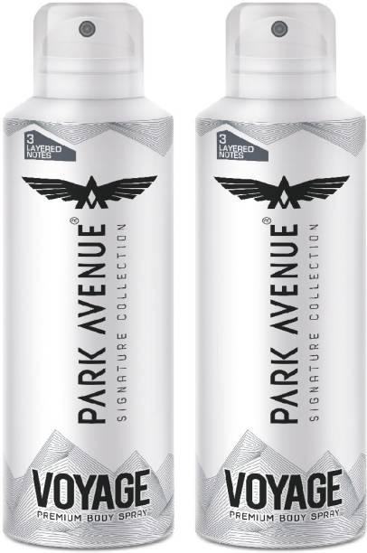 PARK AVENUE Signature Deo Voyage Deodorant Spray  -  For Men & Women