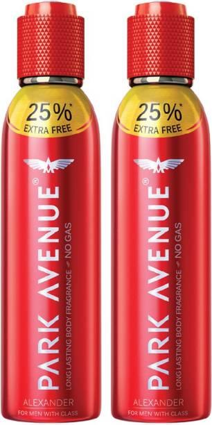PARK AVENUE BODY FRAGRANCE ALEXANDER 150 ML (PACK OF 2) Deodorant Spray  -  For Men & Women