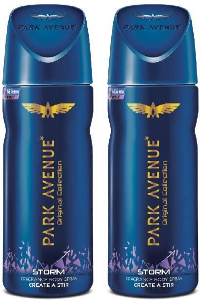 PARK AVENUE Original Deo Storm Deodorant Spray  -  For Men & Women