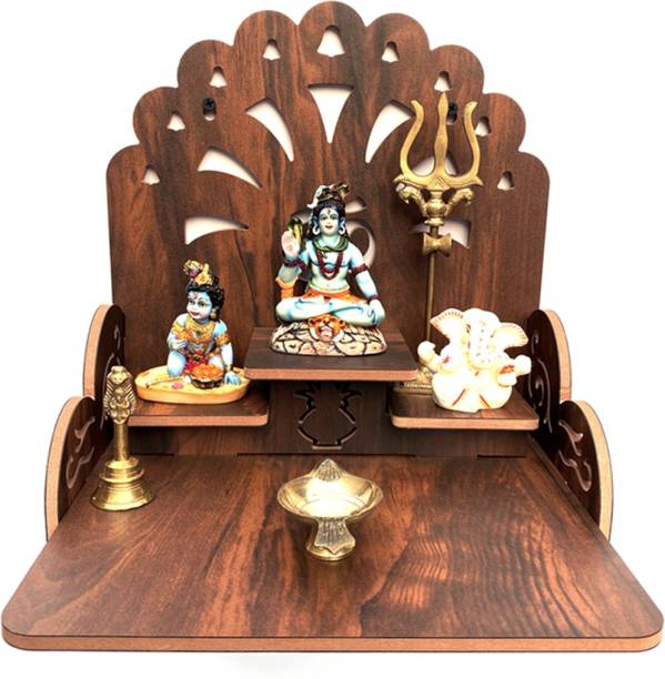 Flipkart Perfect Homes Studio Perfect 3 Step Temple (WB) Engineered Wood Home Temple