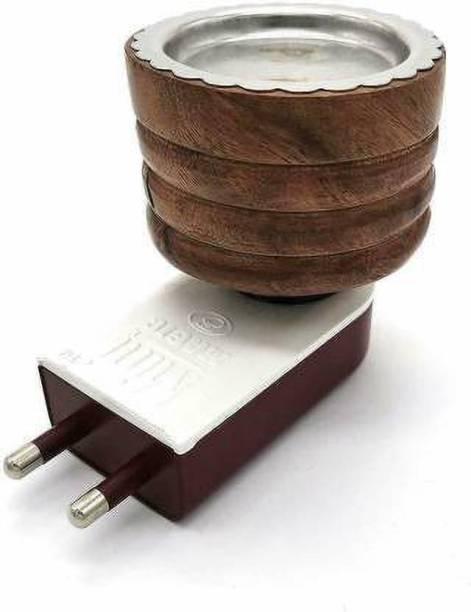 DD RETAIL Wooden Incense Holder (Brown) Wooden Incense Holder