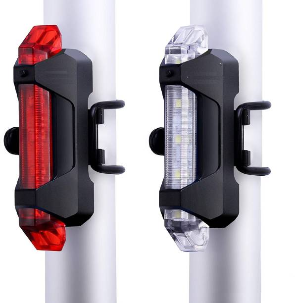 PRO365 Bicycle LED USB Rechargeable Head and tail Light combo LED Front Rear Light Combo