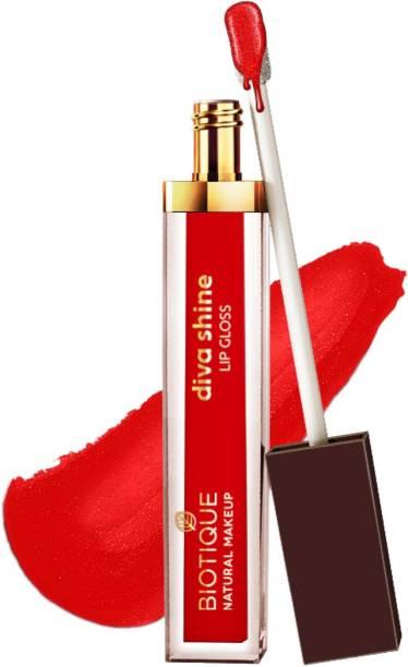 BIOTIQUE Diva Shine Lip Gloss, Paprika Madness