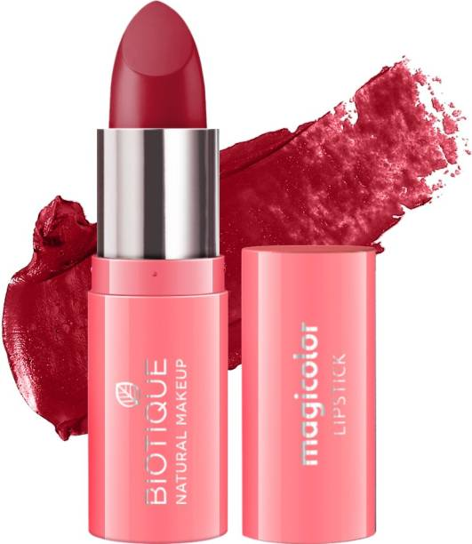 BIOTIQUE Magicolor Lipstick, Fire Me Up