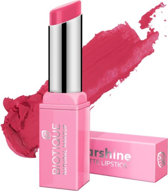BIOTIQUE Starshine Matte Lipstick, Miami Kiss