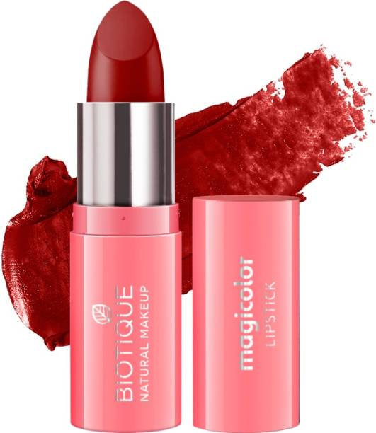 BIOTIQUE Magicolor Lipstick, Red Velvet