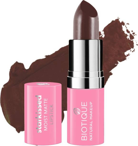 BIOTIQUE Starkissed Moist Matte Lipstick, Oh So Sexy