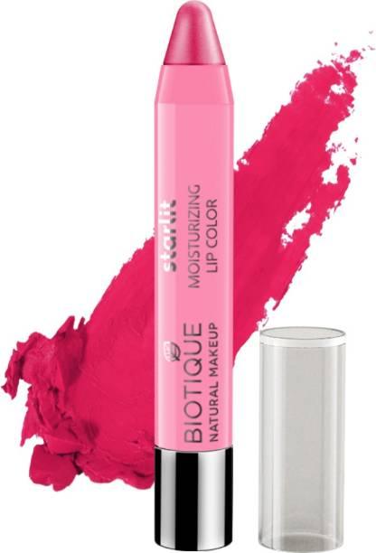 BIOTIQUE Starlit Moisturising Lipstick, Rose Nectar