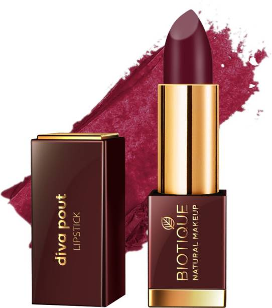 BIOTIQUE Diva Pout Lipstick, Midnight Passion