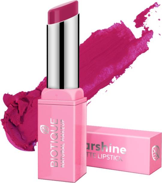 BIOTIQUE Starshine Matte Lipstick, Rebel Rose