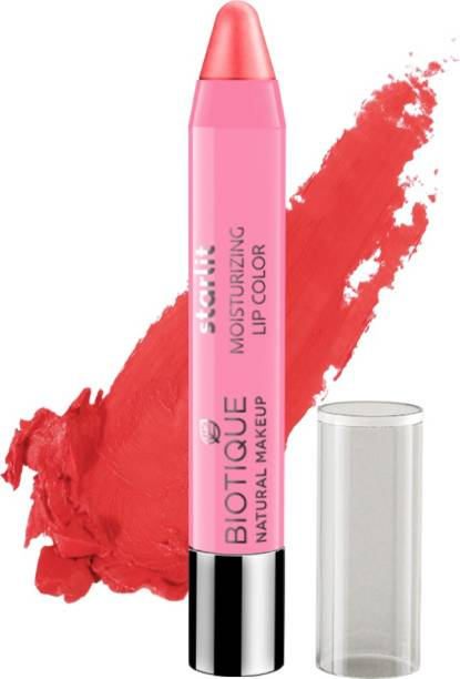 BIOTIQUE Starlit Moisturising Lipstick, Coral Dew