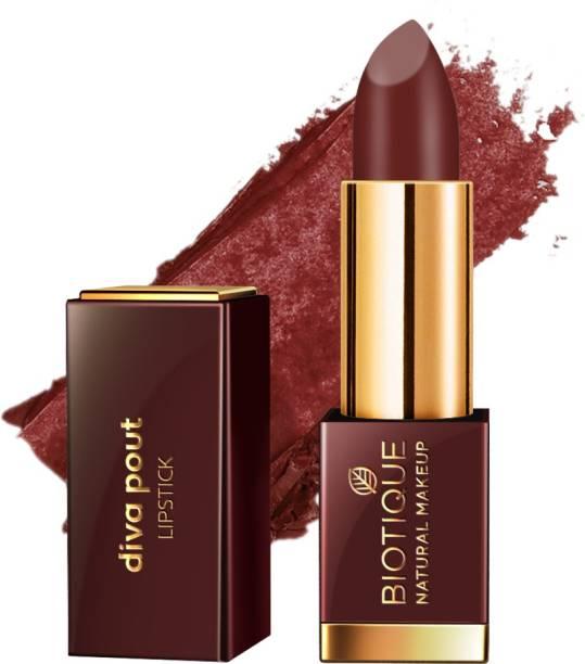 BIOTIQUE Diva Pout Lipstick, Cinnabar Tease
