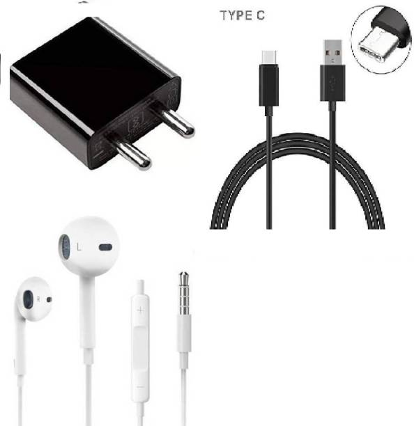 Ml Wall Charger Accessory Combo for Redmi note 7 pro, redmi note 8, redmi note 8, redmi 7, mi A2, redmi 7s with TYPE-C CABLE and adapter