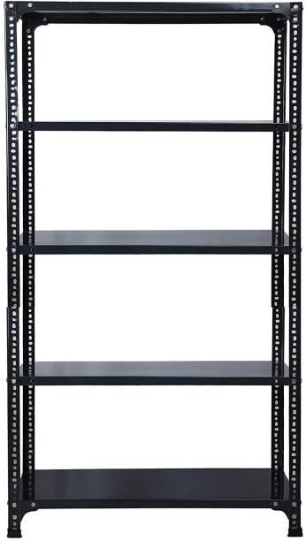 Spacious CRC Sheet Shelf Slotted Angle Rack ,Gauge sheet, Gauge Angle Luggage Rack