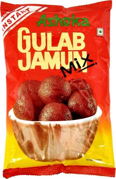 Ashoka Instant Sweet Gulab Jamun Mix - 400 gm Each Pack 800 g