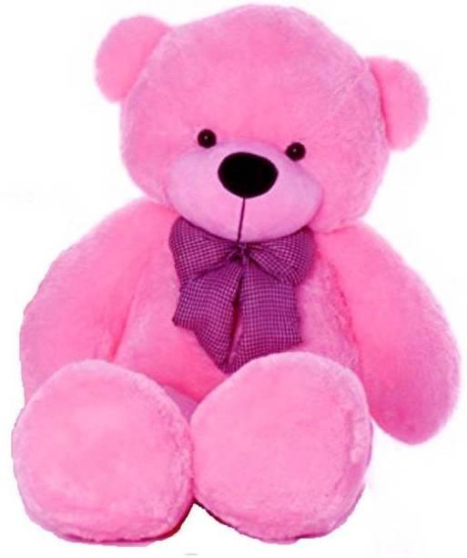 Tedstree 3 feet pink teddy bear / hug able teddy bear / anniversary gift teddy bear / soft and sweet  - 91.15 cm