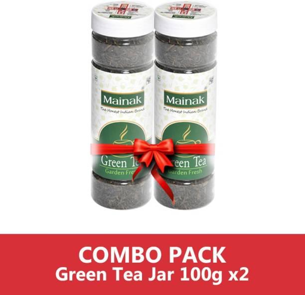 Mainak MGTJ_100_2 Unflavoured Green Tea Plastic Bottle