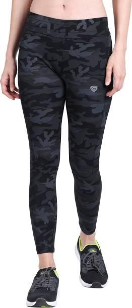 SMARTOTS Printed Women Black Track Pants
