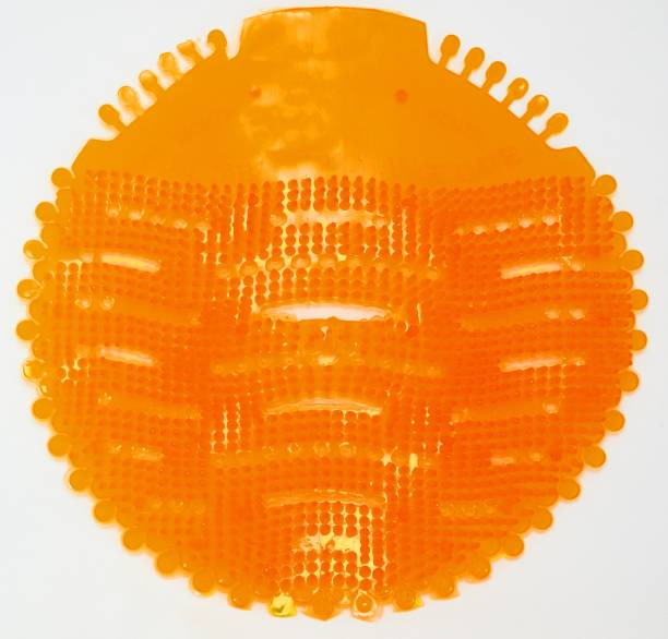 Venua Orange Urinal Screen Orange Mat Toilet Cleaner