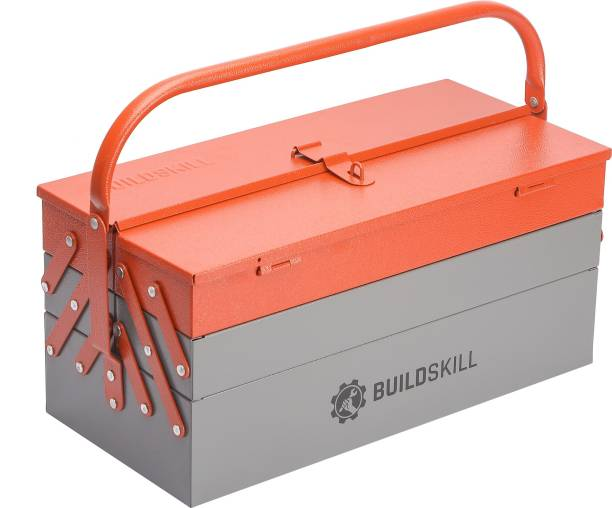 Buildskill BITB175 Cantilever Home Professional Iron Powder Coated With 5 Shelf High Quality Tool Box