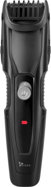 Syska HT1200  Runtime: 40 min Trimmer for Men