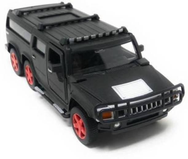 Smartcraft Die Cast Metal Pull Back Car (Black)