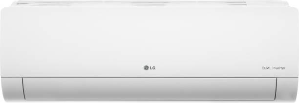LG 1.5 Ton 5 Star Split Dual Inverter AC  - White
