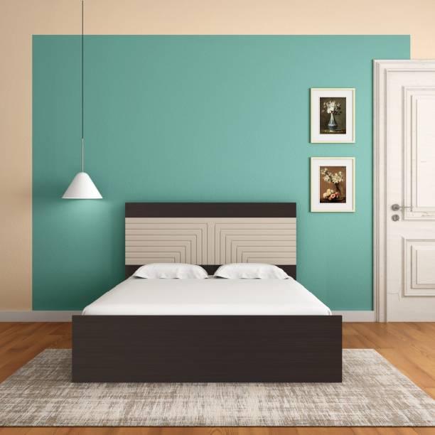 Godrej Interio Apex Engineered Wood King Drawer, Box Bed