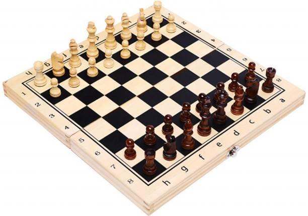 Leosportz International Wooden Chess 30.48 cm Chess Board