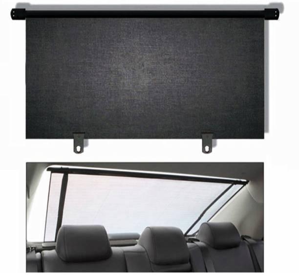 CARMATE 100 Cms Rear Roller Sun Shade Black Car Curtain