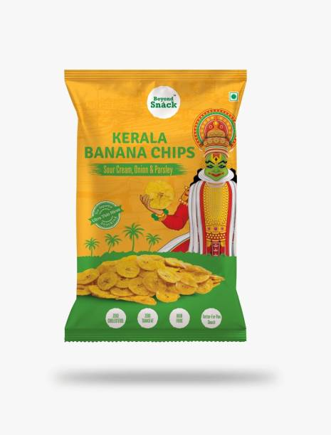 Beyond Snack Kerala Banana Chips -Sour Cream, Onion & Parsley Chips