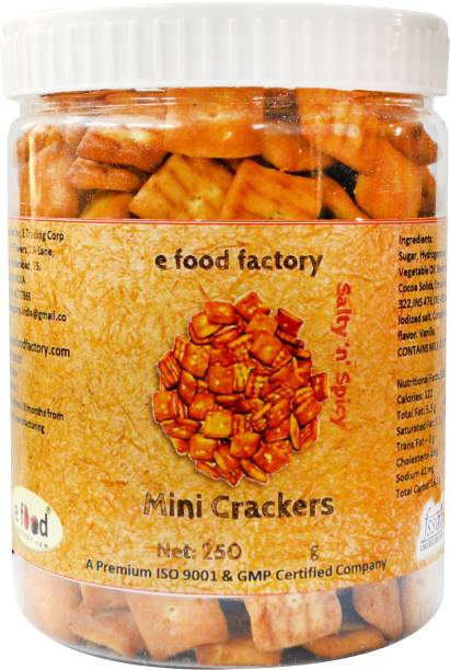 E Food Factory Mini Crackers