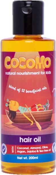 Cocomo Natural 12 in 1 Hair Oil for Kids Hair Oil