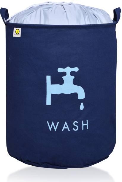 YELLOW WEAVES 50 L Blue Laundry Bag