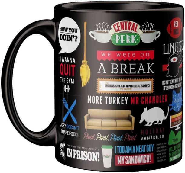 ECFAK Friend Web Series Doodle Ceramic Coffee Mug