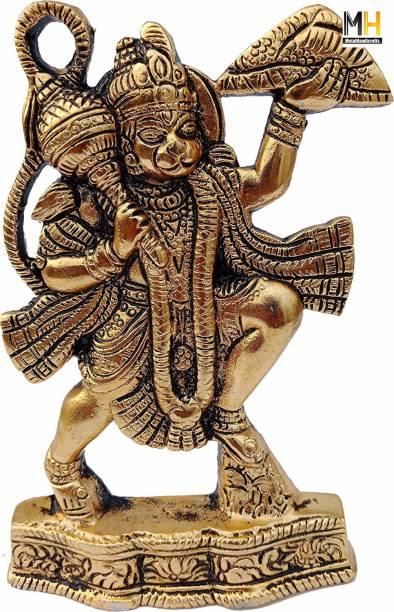 Chhariya Crafts Hanuman ji Murti/Bajrangbali Murti Gift Article Decorative Showpiece  -  17 cm