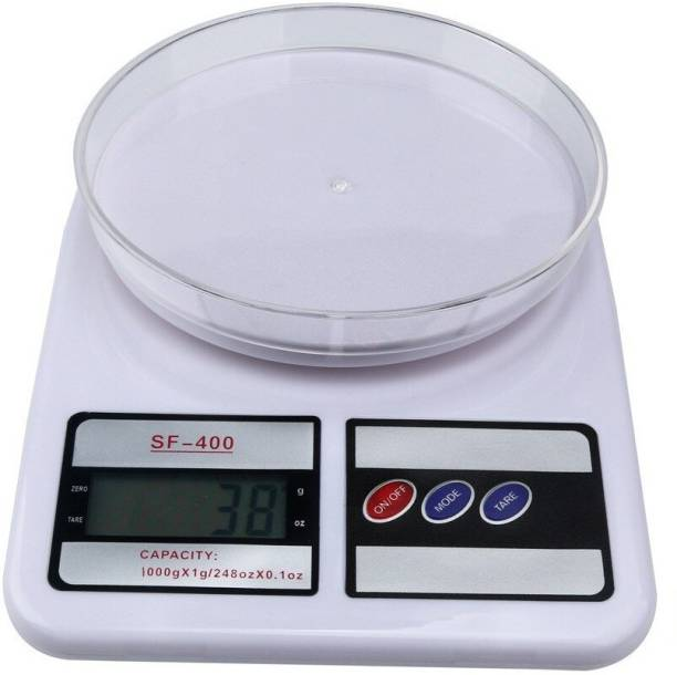 QUICK UNBOX Portable Electric Digital Weighing Machine for Kitchen Bake war Grocery Flour Veggies Fruit Weight Scale Weighing Scale