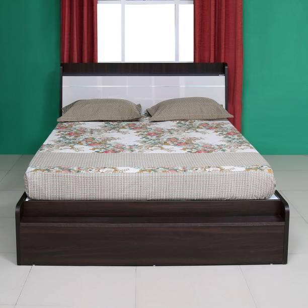Nilkamal Toya Engineered Wood Queen Box Bed